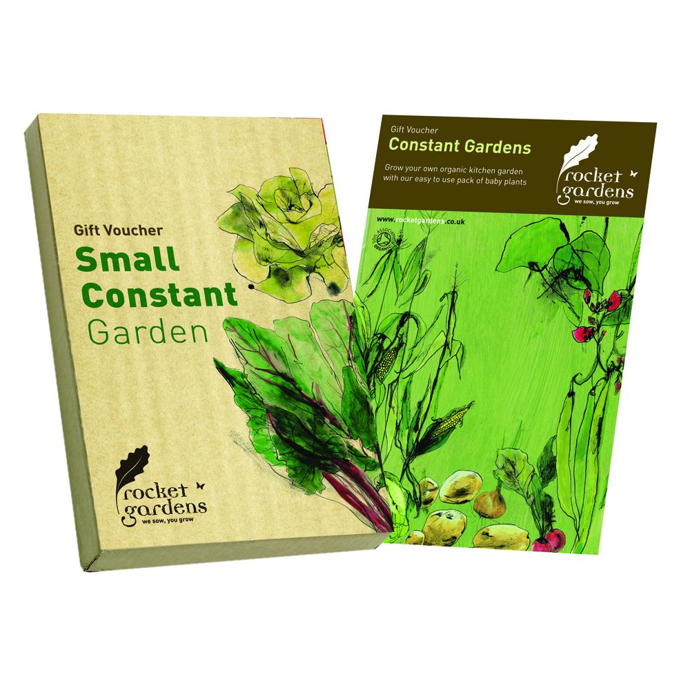 Small year round veg patch gift voucher rocket gardens for Gardening gift vouchers