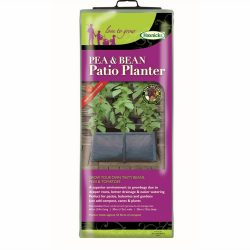 Pea and Bean Planter with cane support pockets