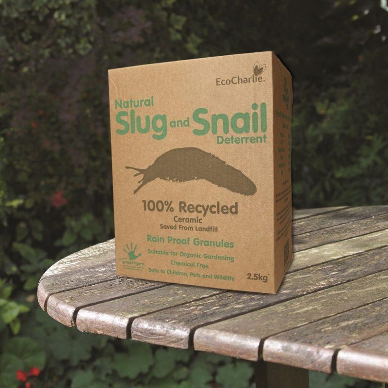 Natural Slug And Snail Deterrent